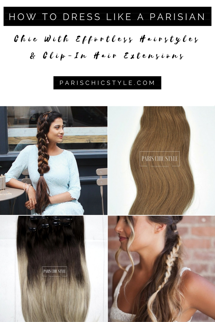 2 How To Dress Like A Parisian Chic Hairstyle Effortlessly