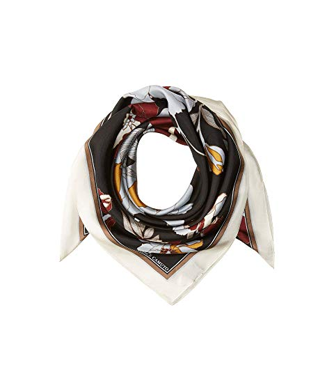 Best Scarf For Dresses Vince Camuto Illustrated Floral Square Paris Chic Style 5
