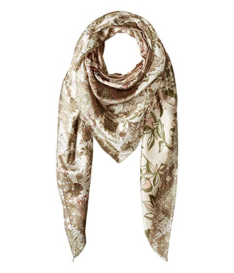 Best Scarf For Dresses Vince Camuto Patched Folkloric Square Paris Chic Style 9
