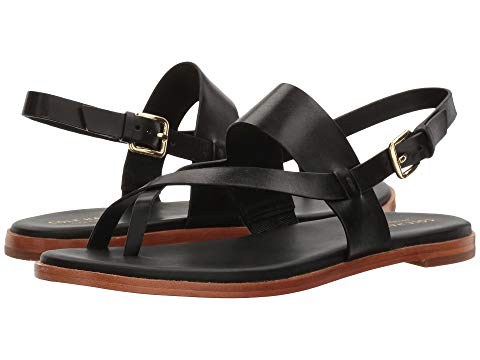 What Color Shoes To Wear With A Red Dress Black Shoes With A Red Dress Cole Haan Anica Thong Sandal Paris Chic Style 7