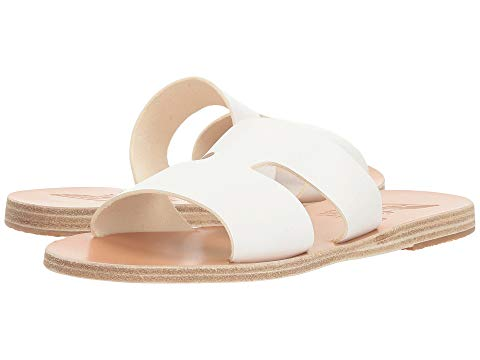 What Color Shoes To Wear With A Red Dress White Shoes Ancient Greek Sandals Apteros Paris Chic Style 1