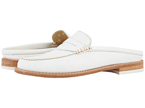What Color Shoes To Wear With A Red Dress White Shoes G.H. Bass & Co. Wynn Weejuns Paris Chic Style 2