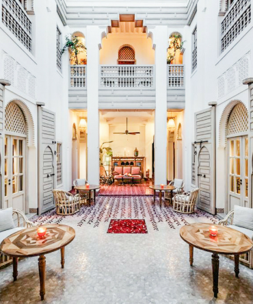 Paris Chic Style Best Riads In Marrakech Morocco