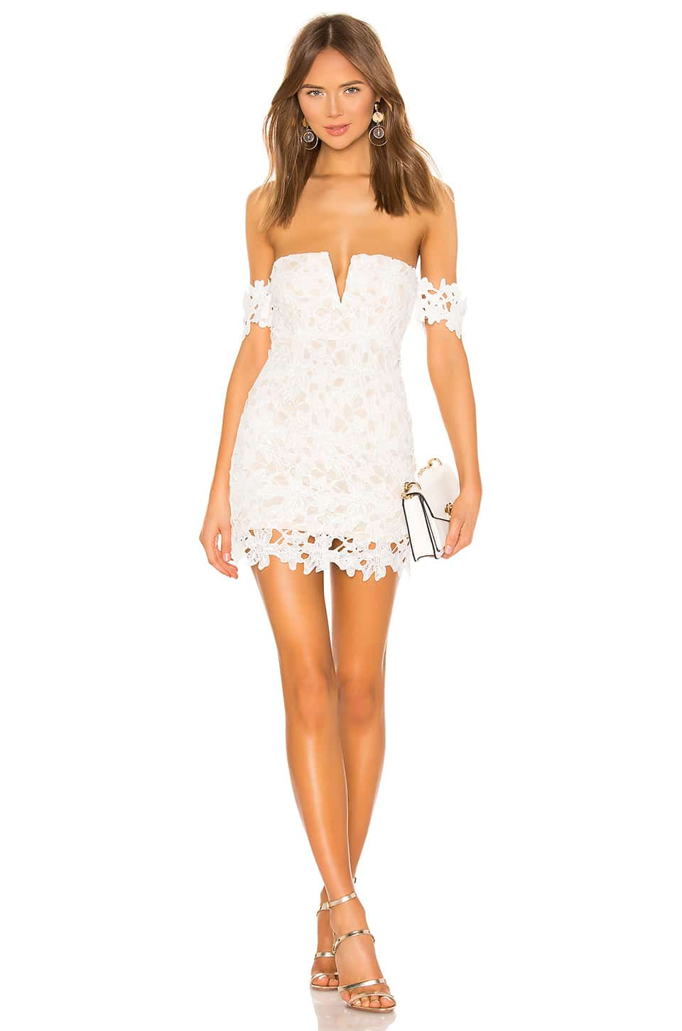 What To Wear In New York City In Summer Paris Chic Style Off The Shoulder White Dress