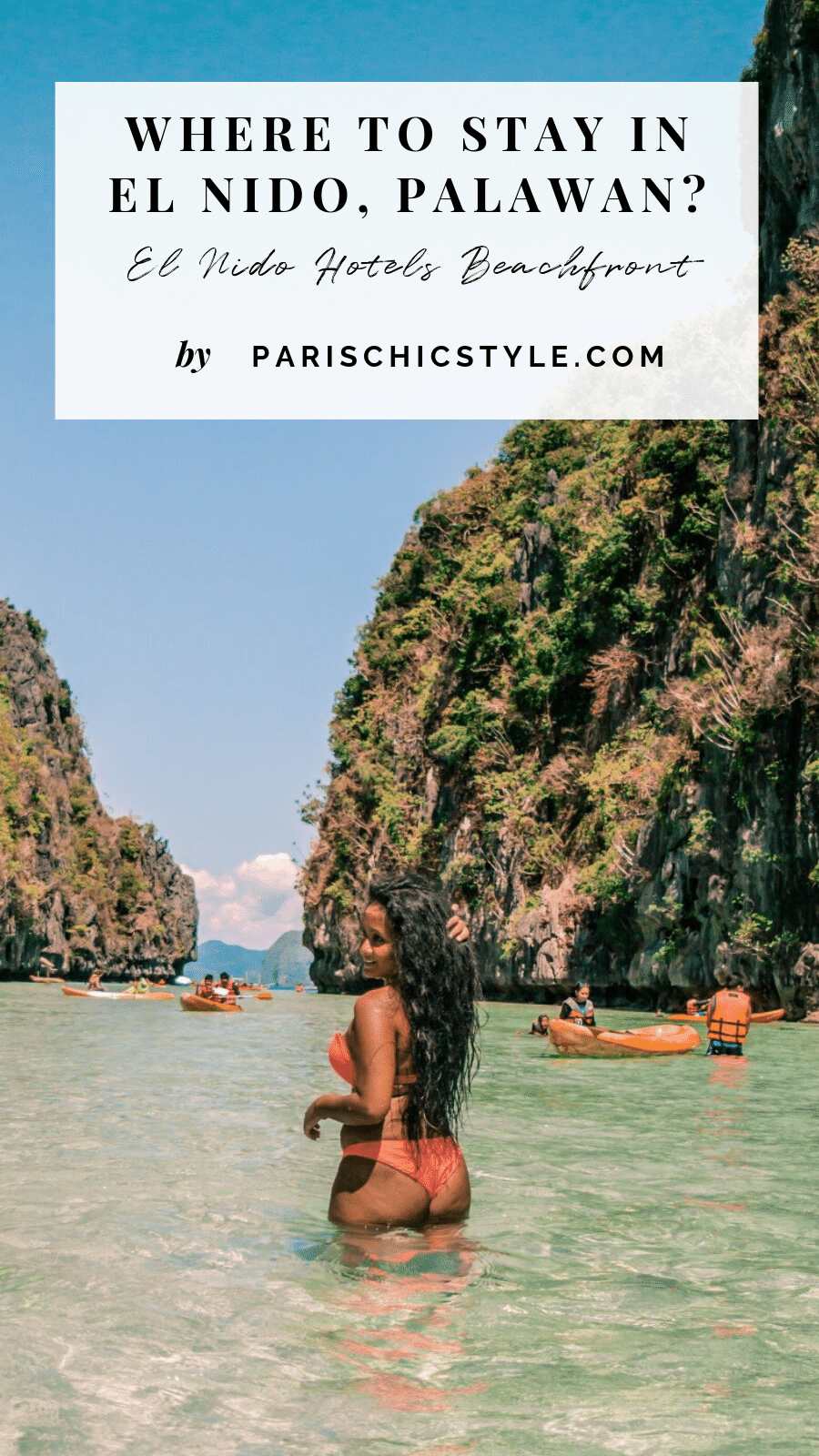where to stay in el nido beachfront hotels palawan paris chic style pinterest