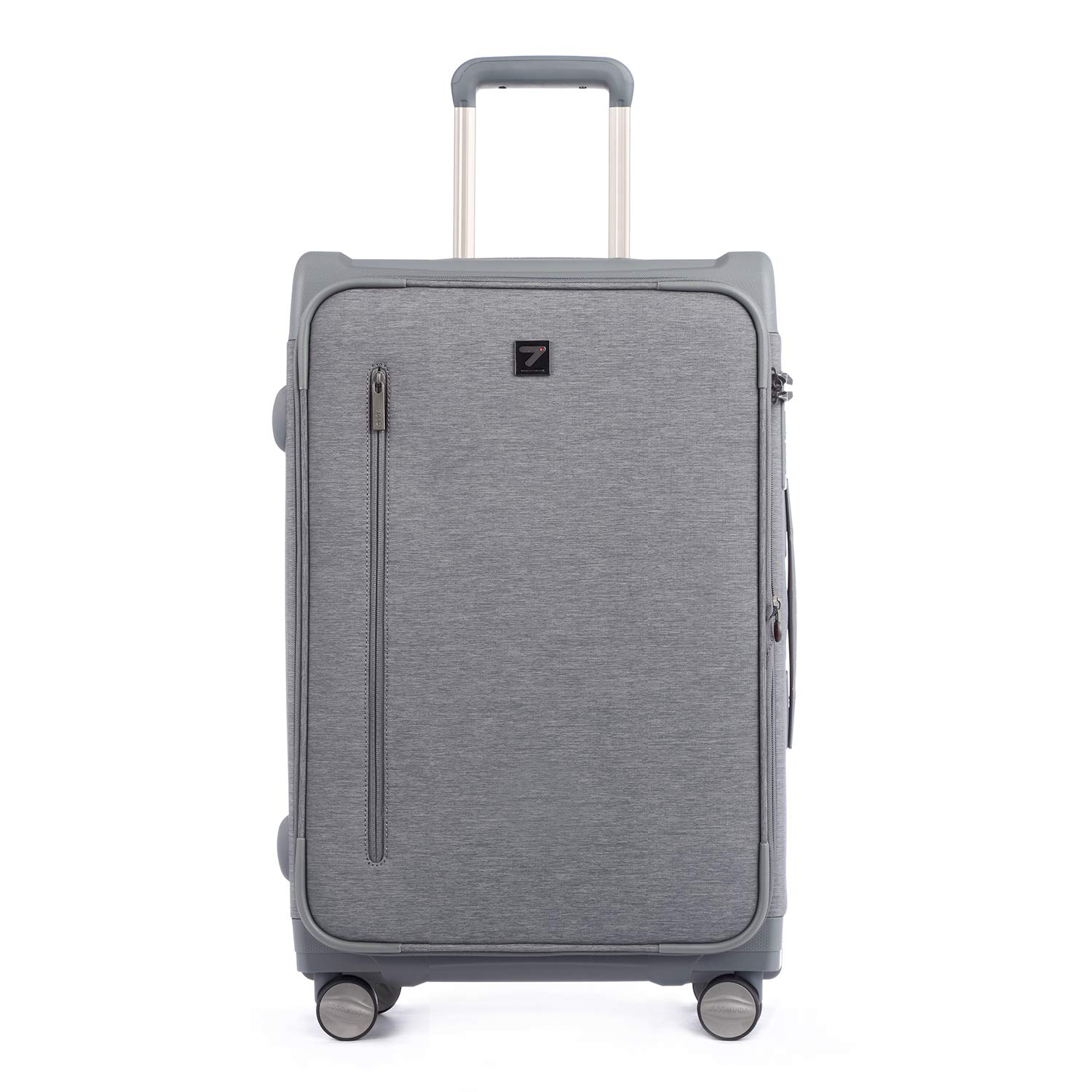 Paris Chic Style Best Checked Travel Luggage Soft Shell Lightweight Totell