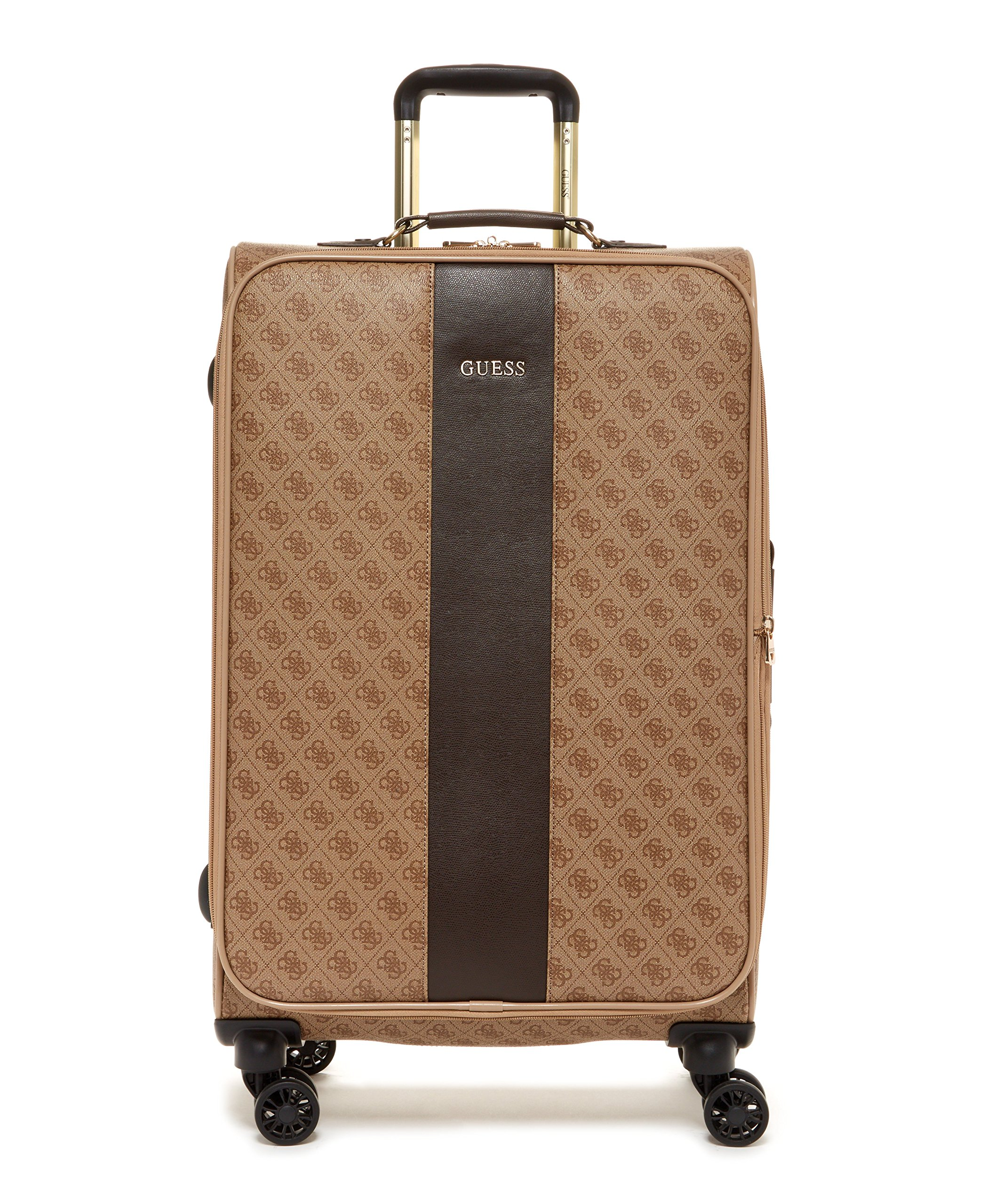 Paris Chic Style Guess Nissana 28 Inch Best Travel Luggage Check In Soft Shell Lightweight Suitcase Four Wheels spinner