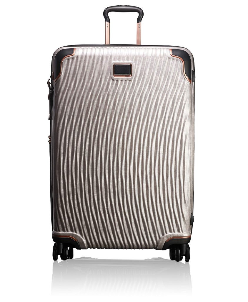 Paris Chic Style Best Travel Luggage Check In Checked Lightweight Travel Suitcase Stylish Tumi Unisex Latitude Extended Trip Packing Case 4