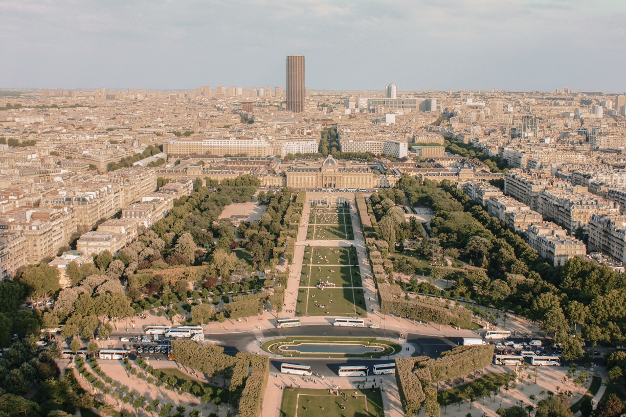 3 to 4 days in Paris Itinerary Best Things To Do In Paris Chic Style Fashion Travel Blog Champ de Mars