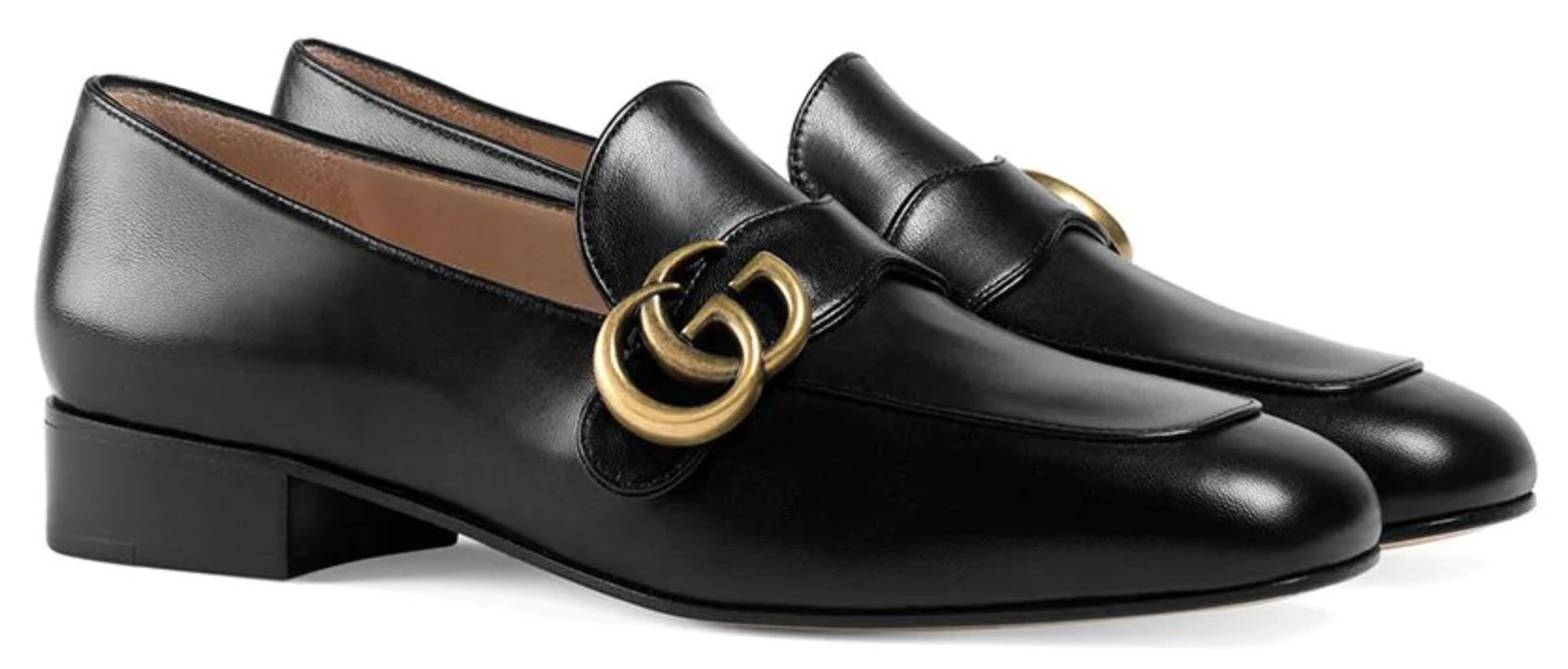 Paris Chic Style French Shoes Style Outfit Parisian Flats Loafers Gucci Double G