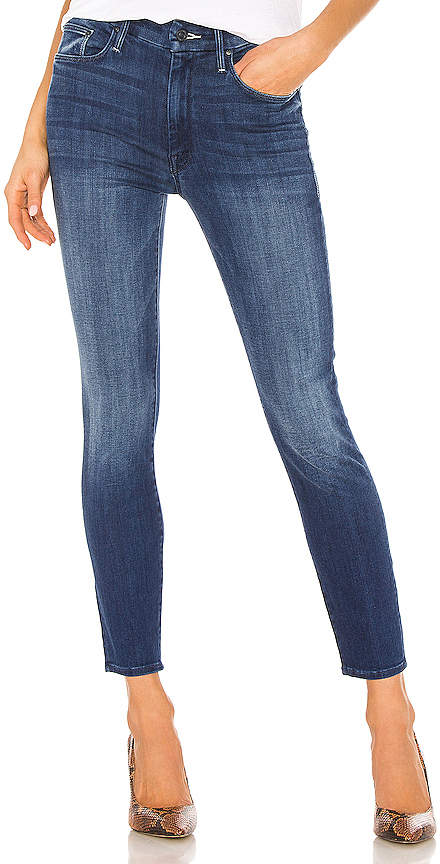 Paris Chic Style French Style Outfit Parisian High Waisted Jeans