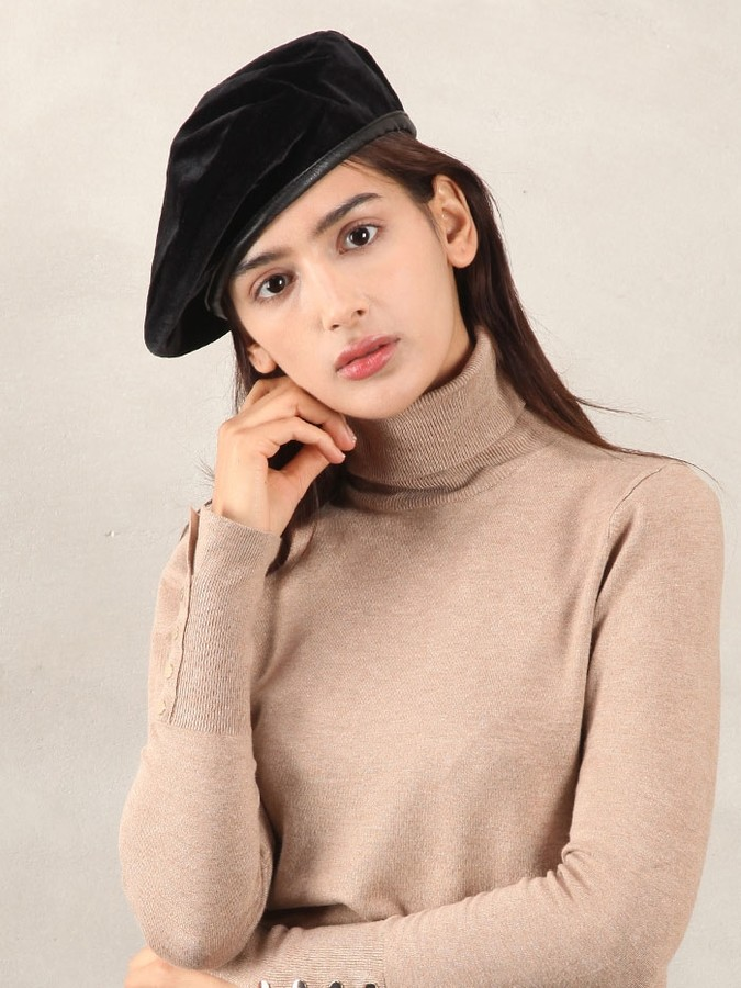 French Style Beret Hat Paris Chic Style