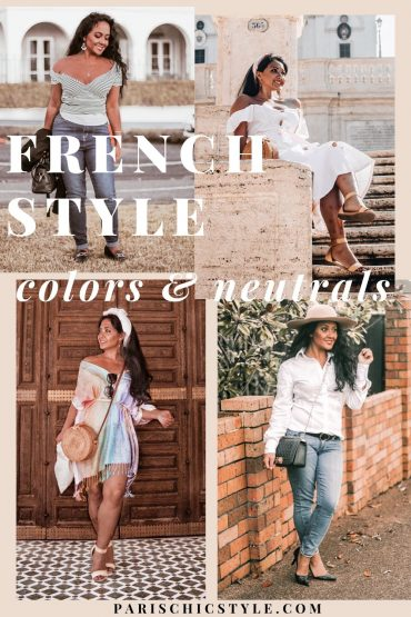 French Style Outfits Parisian Chic In Colors Neutral Fashion What To Wear In Paris Chic Style