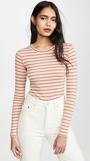 French Style Stripe Tops Outfit Paris Chic Style