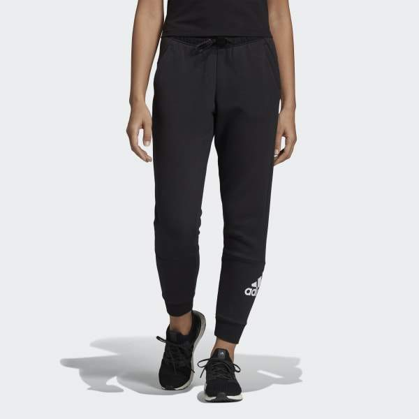 Black Sweatpants For Women Joggers Trackpants For Going Out Walking Training Chic Sweatpants Adidas Paris Chic Style