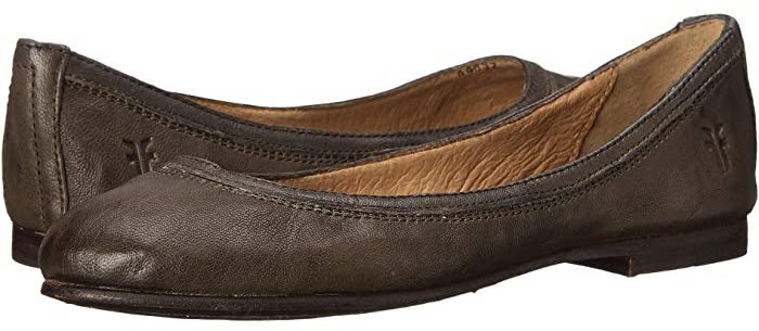Best Travel Shoes Stylish Most Comfortable Ballet Flats For Walking Paris Chic Style FRYE Women's Carson