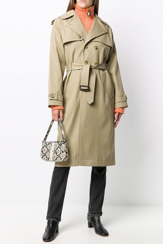 French Clothing Brand APC French Trench Coat Parisian Style Paris Chic Style