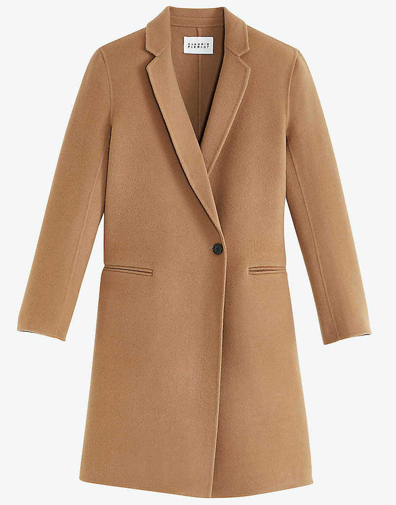 French Fashion Clothing Brand Claudie Pierlot French Coat Parisian Style Paris Chic Style