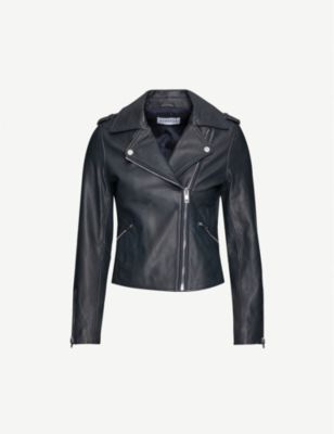 French Clothing Brand Claudie Pierlot French Leather Jacket Parisian Style Paris Chic Style