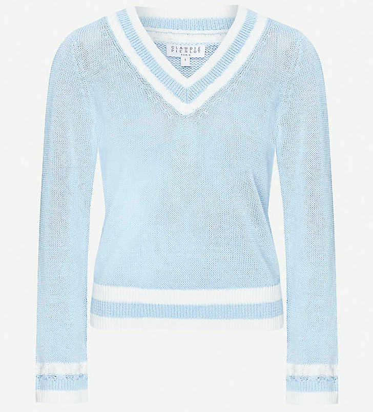 French Fashion Clothing Brand Claudie Pierlot French Sweater Parisian Style Paris Chic Style