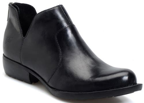 Most Comfortable Bootie For Women For Walking, Travel, Work, Street Style Born Parisian Style Black Bootie Paris Chic Style