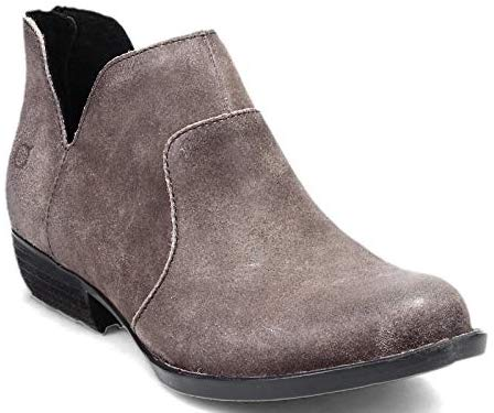 Most Comfortable Bootie For Women For Walking, Travel, Work, Street Style Born Parisian Style Gray Boots Paris Chic Style 6