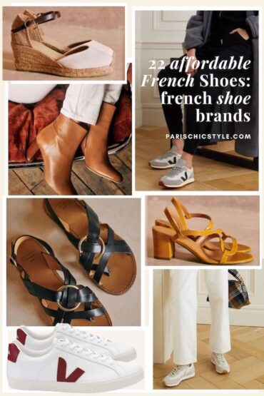 Affordable French Shoes French Shoe Brands Parisian Style Paris Chic Style