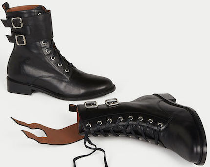 Ba&sh Comfortable Stylish French Boots For Work, Walking Everyday Parisian Streetstyle Shoes Paris Chic Style