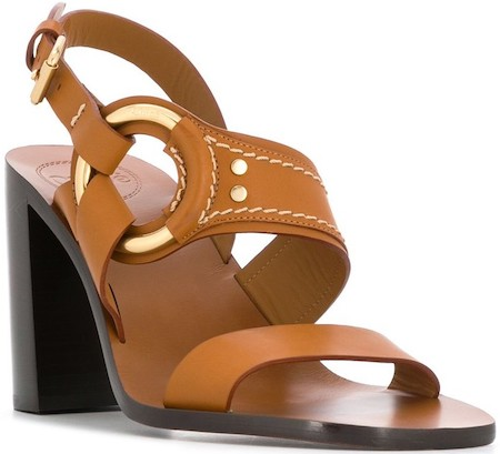 Chloe French Shoe Brands High Heel Leather Strap Parisian Sandals For Work Parties Events Street Style Shoes Paris Chic Styles