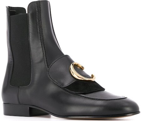 Chloe Parisian Boots For Work Walking Sightseeing Travel Street Style French Boots Paris Chic Style