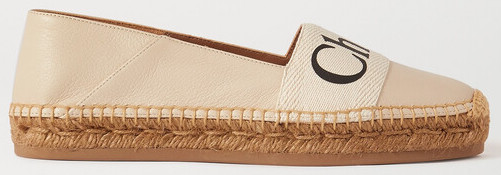 Chloe Parisian Espadrilles Loafers For Summer Spring Walking Travel Everyday Shoes Paris Chic Style