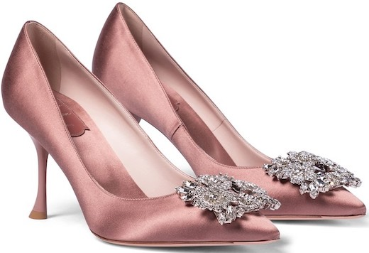 Roger Vivier French Shoes Brand Parisian Shoes French Heels Blush Pink French Girls Paris Chic Style