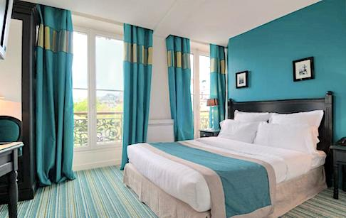 Best Paris Hotels With Balcony Eiffel Tower View Hotel Cluny Square Paris Chic Style