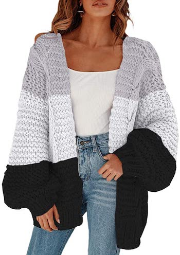 Best Oversized Sweater For Fall & Winter French Style Oversized Cardigan Paris Chic Style
