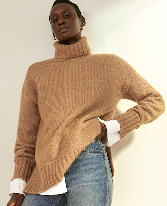 Cozy Comfortable Parisian Turtleneck Sweater For Fall Winter Best Cardigans For Women Paris Chic Style