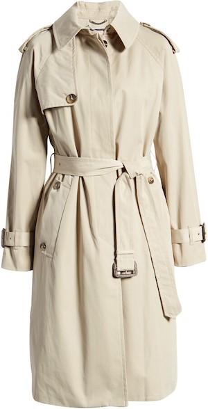 London Fog Best Water Repellent Trench Coat Warm French Style Water Resistant Trench Coat Paris Chic Style