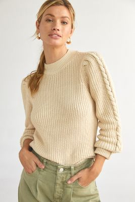 Short Parisian Knit Sweater Pullover Cardigan For Fall Winter Paris Chic Style